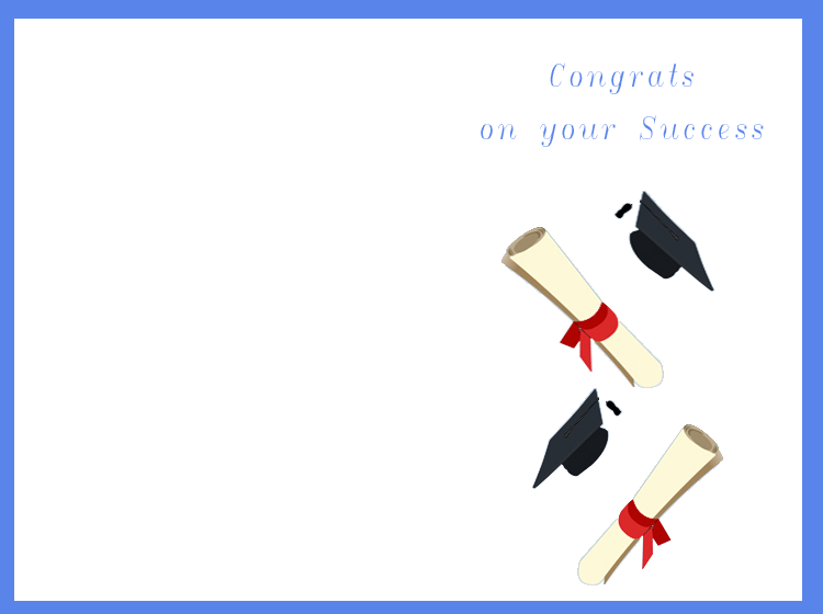 Congrats On Your Success Cards