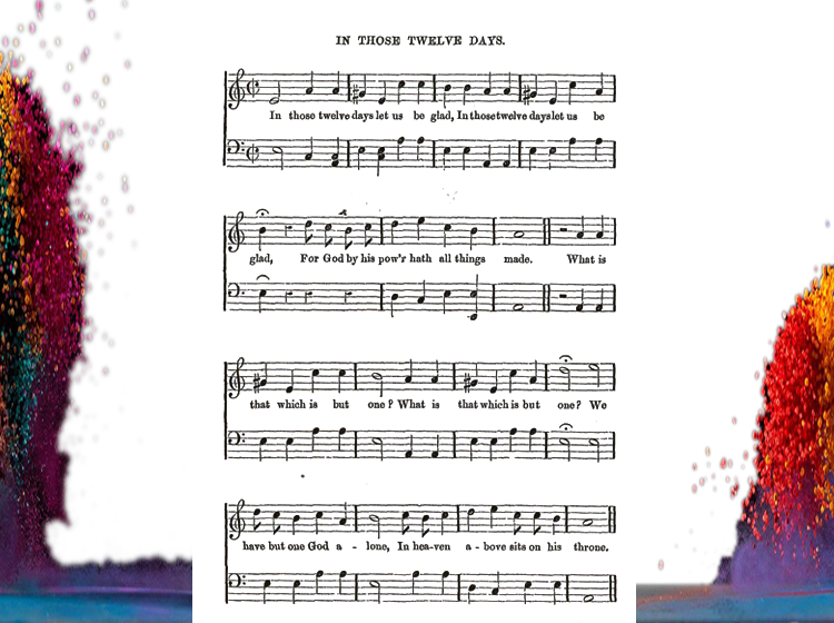 In Those Twelve Days Printable Piano Music
