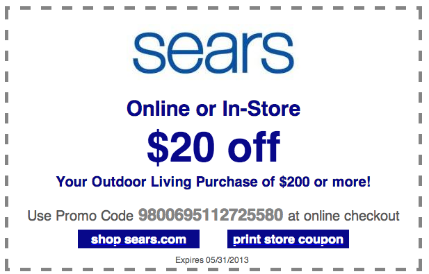 Printable Sears Coupon