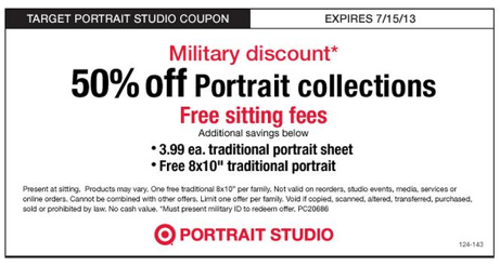 Target Military Discount Coupon