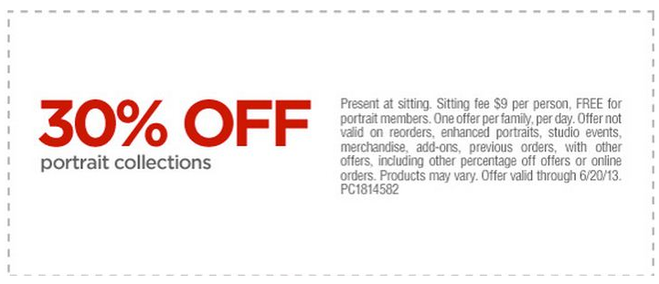 JCPenny Portrait Studio Coupon