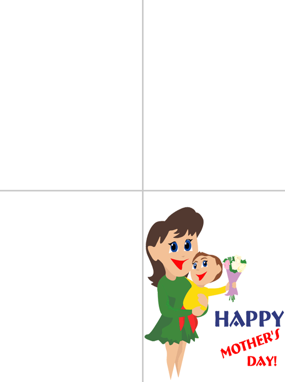 Printable Mother's Cards