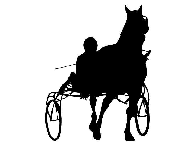 Horse Cart Stencil Printable Crafts