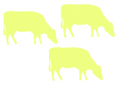 Printable Animal Stencils - yellow