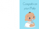 Congrats On Your Baby Card