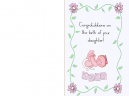 Printable Congratulations Baby Girl Cards