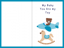 Printable Toy Baby Cards