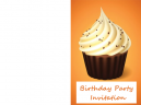 Cupcake Birthday Printable Invitations