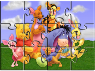 Printable Cartoon Jigsaw Puzzles