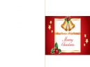 Printable Jingle Bells Merry Christmas Cards