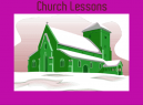 Church Worksheets for Free