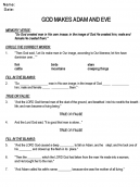 Printable Questions Church Worksheet