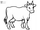 Cow Coloring Printable Activities