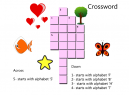 Items Crossword Puzzle Printable Games