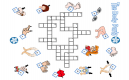 Printable Colorful Crossword Puzzles