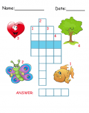 Printable Shapes Crossword Puzzles