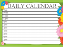 Great Daily Calendars
