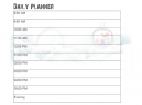 Printable Cloudy Daily Calendars