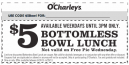 Printable O'Charley's Coupons