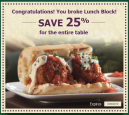 Printable Olive Garden Coupons