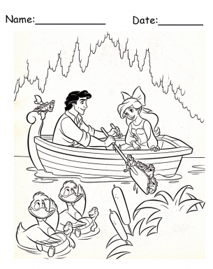 disney colouring pages download | Ariel coloring pages, Mermaid ... | 385x305