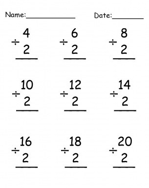 math worksheet : free printable division worksheets to improve math skills  blog : Division Worksheets Printable