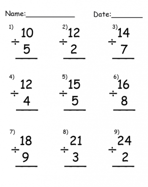 math worksheet : printable simple division worksheets : Beginning Division Worksheets With Pictures