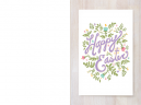 Printable Floral Easter Cards