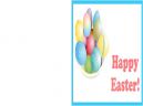 Printable Happy Easter Cards