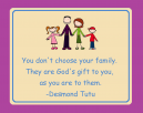 God's Gift Printable Family Quote