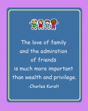 Love of Family Printable Quote