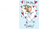 Printable I Love You Father's Day Cards
