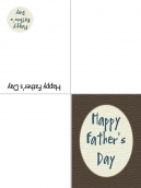 Printable Special Father's Day Card