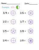Practice Fraction Worksheet