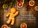 Christmas Childhood Smells Quote