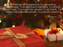 Christmas Gifts Quote