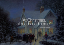 Christmas Roads Lead Home Quote