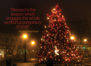 Conspiracy of Love - Christmas Quote