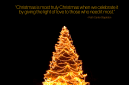 Ruth Carter Stapleton Christmas Quote