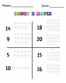 Apples Count N Match Cool Math Printable Games