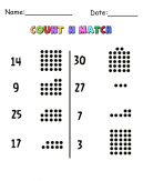 Circles Count N Match Cool Math Printable Games