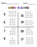 Cupcakes Count N Match Cool Math Printable Games