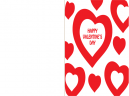 Printable Valentines Day Heart Card