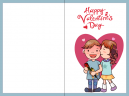Valentine Kiss Valentines Day Cards