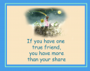 True Friends Printable Quotes