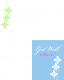 Printable Get Well Soon Trifold Cards