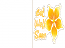 Printable Yellow Flower Get Well Cards