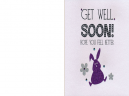 Rabbit Get Well Soon Cards