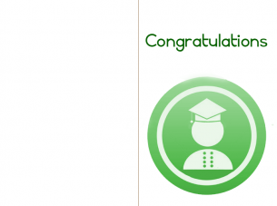 Printable Green Congratulations Cards