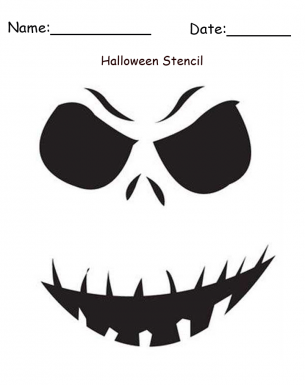 graphic regarding Halloween Craft Printable named Ghost Stencil Printable Halloween Craft